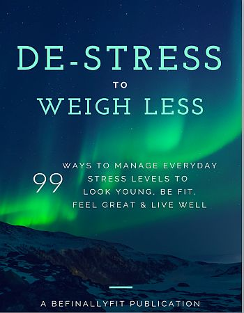 De-stress to weight less